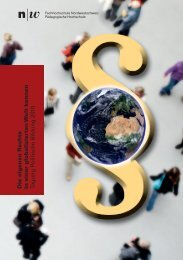 Tagungsflyer als .pdf zum Download - Politische Bildung