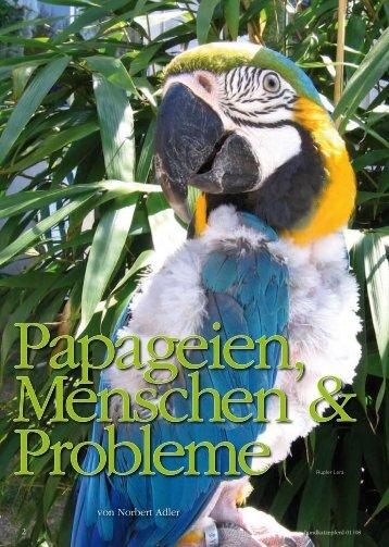 Papageien Menschen und Probleme - Home - Praxis für ...