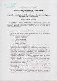 Zatządzenie Nr 612o,o8 - BIP PGL LP - Lasy Państwowe