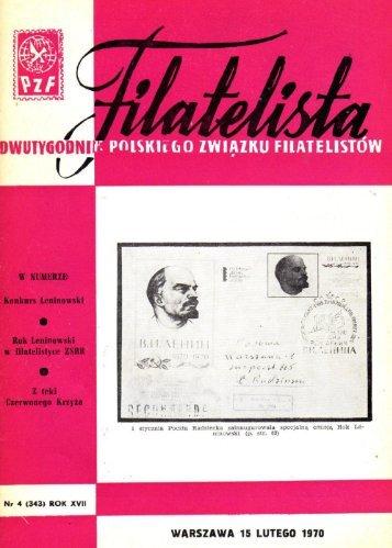 Filatelista 1970.04 - Zarząd Główny PZF