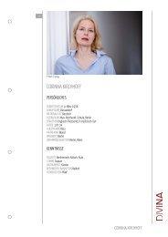 CORINNA KIRCHHOFF - DIVINA – Agentur für Schauspielkunst