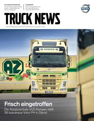 Truck News Ausgabe 02-2013 - Volvo Trucks