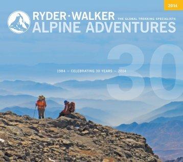 NEW - Ryder Walker