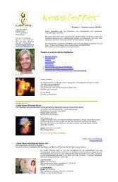 Newsletter Winter 2009-2010 - Liebe leben