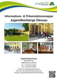 Infomappe der Jugendherberge Dessau - DJH Sachsen-Anhalt