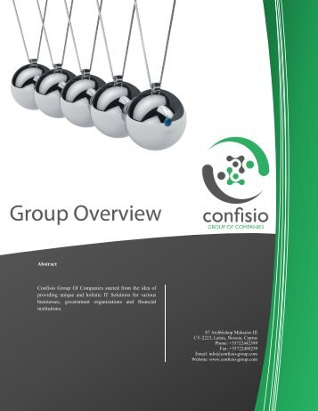 Copy of Company Letter.docx - Confisio Group of Companies