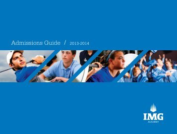 Admissions Guide / 2013-2014 - Japan Sports Training