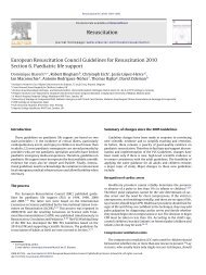 European Resuscitation Council Guidelines for Resuscitation 2010 ...