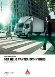 Download Canter Eco Hybrid Broschüre - Mitsubishi Fuso