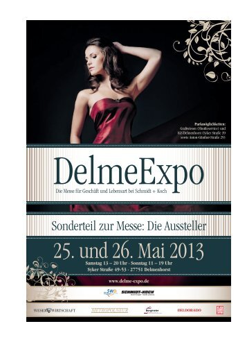 Delmenhorster Zeitung vom 18.05.2013 - DelmeExpo