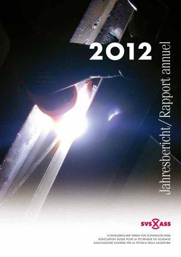 Jahresbericht / Rapport annuel - Schweizerischer Verein für ...