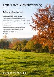 Frankfurter Selbsthilfezeitung - Selbsthilfe-Kontaktstelle Frankfurt