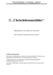 Erich - Theaterverlag Kaliolabusto