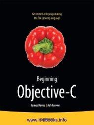 Beginning Objective-C pdf - EBook Free Download