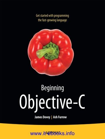 Beginning Objective-C pdf - EBook Free Download