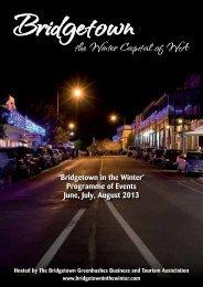 Download programme Booklet - Blackwood River Valley