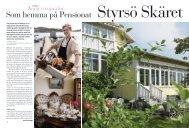 Tema konferenspärlor - Pensionat Skäret