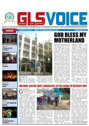GLS Voice February 2013 - Gujarat Law Society