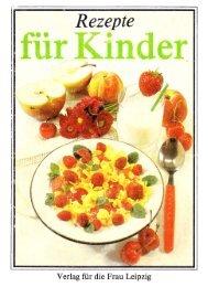 Rezepte für Kinder - Ziltendorf