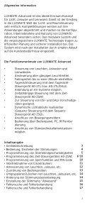 LUXMATE for use Bedienungsanleitung AD-CG04 - Voltimum ES - Seite 2