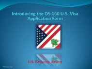 Presenting the DS-160 (PDF 2.21mb) - Embassy of the United ...