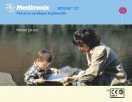 REVEAL® XT Moniteur cardiaque implantable Manuel ... - Medtronic