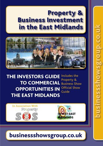 2012-13 East Mids Investor Brochure final - Business Shows Group