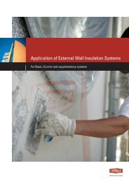 Application of External Wall Insulation Systems - Alsecco