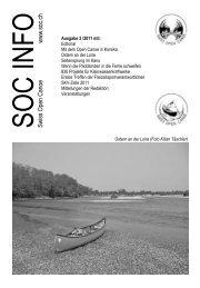 SOC Kontakte - Swiss Open Canoe