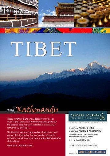 tibet & kathmandu - Samsara Journeys