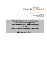 Modulhandbuch des Studiengangs International Management ...
