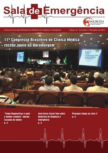 11º Congresso Brasileiro de Clínica Médica recebe ... - Abramurgem