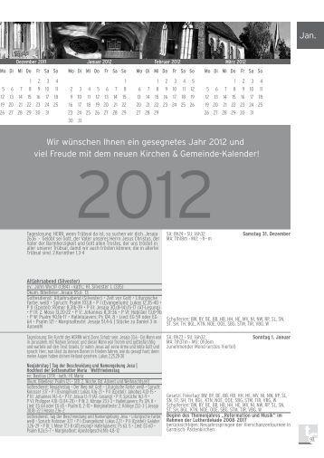 Januar 2012 (2.770,0kb) - Kirchen & Gemeinde-Kalender