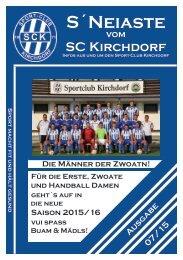 S'Neiaste vom SCK 07/2015