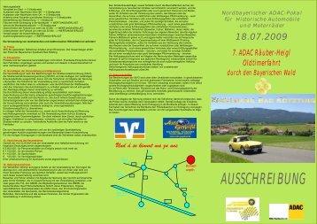 AUSSCHREIBUNG - MSC Hohenwarth