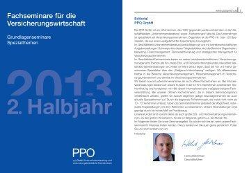 2. Halbjahr - PPO GmbH