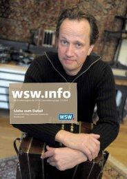 wsw.info Ausgabe 155 / Dezember 2013 - Wuppertaler Stadtwerke AG