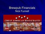 Making Beer Make Money Nick Funnell