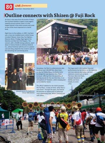outline at fuji rock festival 2013