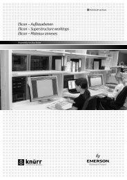 Elicon – Aufbauebenen Elicon – Superstructure worktops Elicon ...