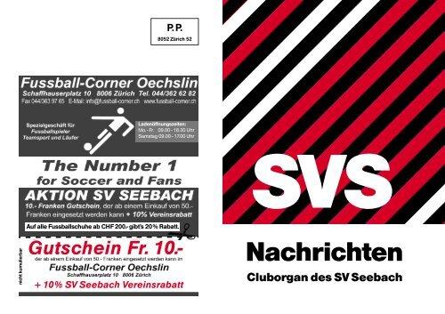 Ausgabe 168 - Juli 2013 - SV Seebach