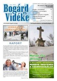 2013-03-21 - Bogárd és Vidéke Lapkiadó és Nyomda