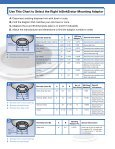 Mounting Adaptor Selection Guide - InSinkErator - Page 2