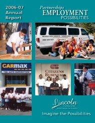 2007 Annual Report - Lincoln Training Center