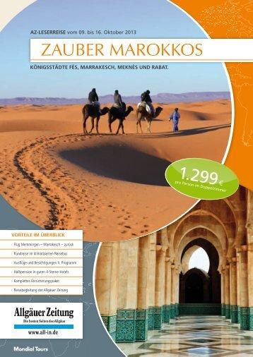 Marokko_Reiseprogramm - Ihre Allgäuer Zeitung