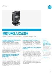 ÖZELLİK tABLoSu - Motorola Solutions