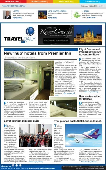 Wednesday 3rd July 2013.indd - Travel Daily Media