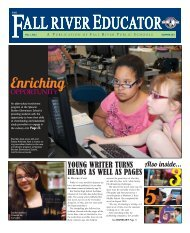 Download the Fall River Educator, Summer 2011 (PDF) - Grant ...