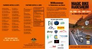 Download as PDF: Program MBR 2013 - Magic Bike