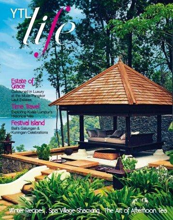 Estate of Grace Time Travel Festival Island - YTL Hotels